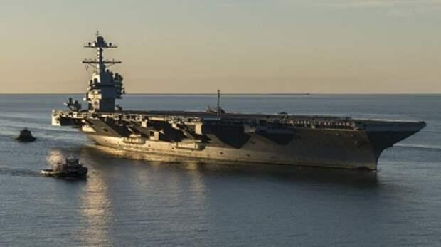 Крах идеи «корабля XXI века»: как многоцелевой авианосец стал «хромой уткой»