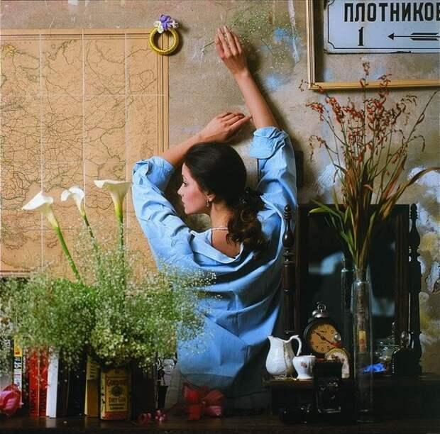Красавицы из 90-ых:Ольга Кабо