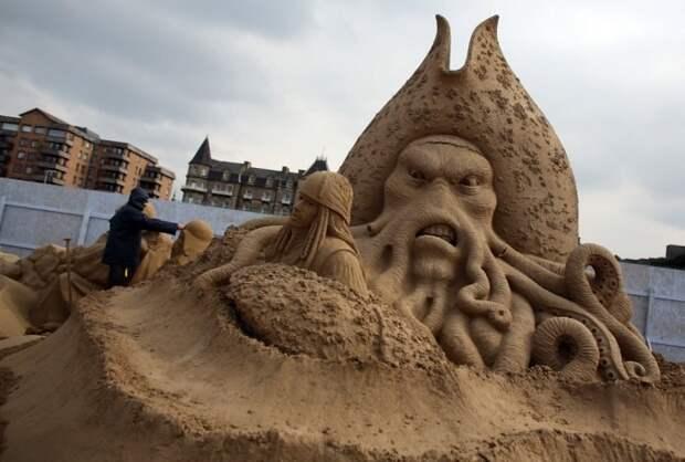 wpid festival pesochnoy skul ptury v anglii i 61 Фестиваль песочной скульптуры в Англии