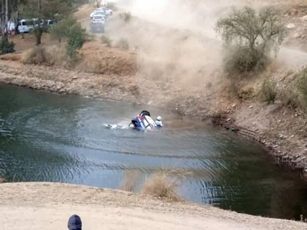 WRC: Отт Тянак попал в аварию на ралли Мексики