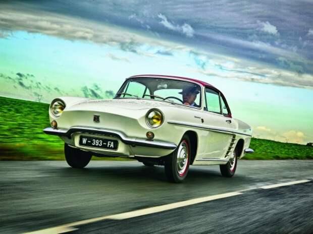 Renault Floride: в цвете Бардо