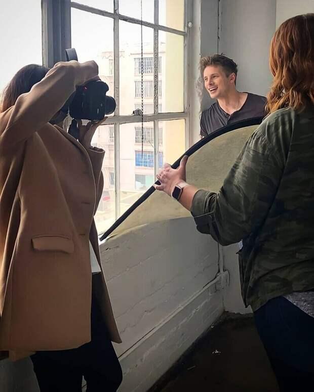 Как обычно снимают фотографы
