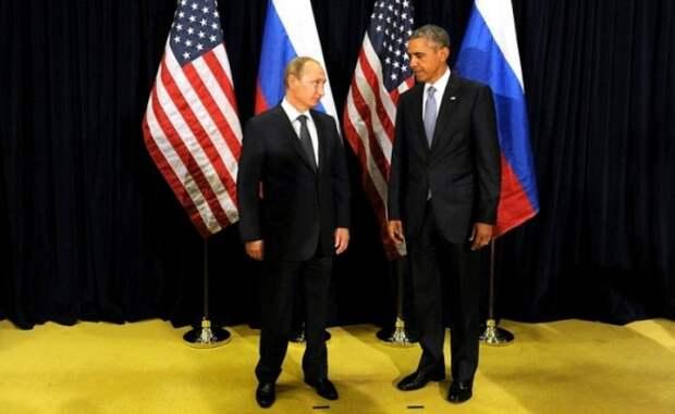 Пока Обама играл в шахматы, Путин стрелял в тире