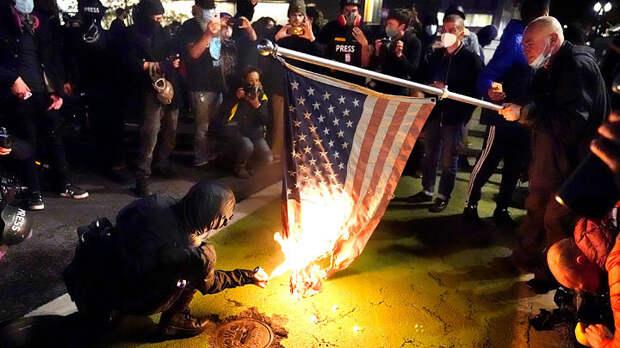 Трампа выключили: Хватит ли Вашингтону покрышек для майдана