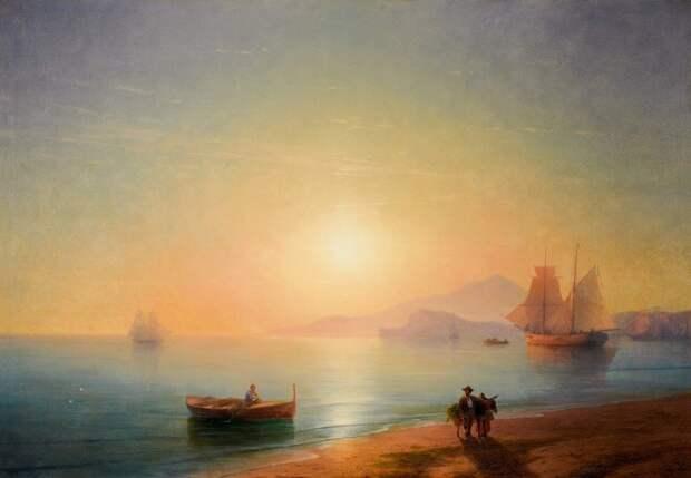 Картину Айвазовского «Неаполитанский залив» купили почти за 3 млн долларов