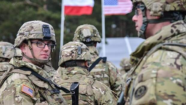 Солдаты НАТО, фото РИА Новости / Стрингер