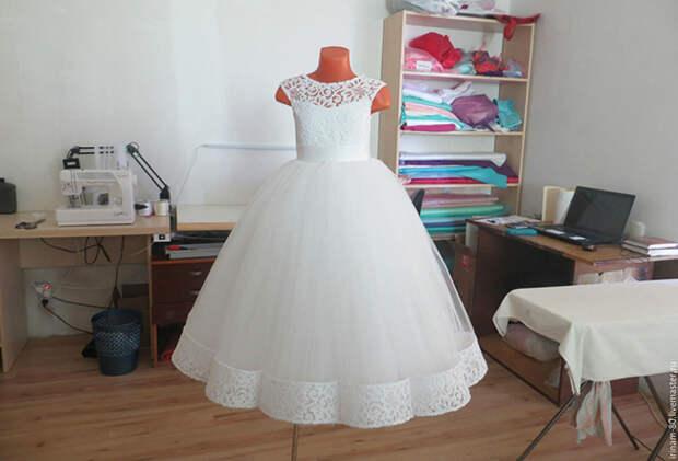 Как накрахмалить платье: Результат — выше всех похвал