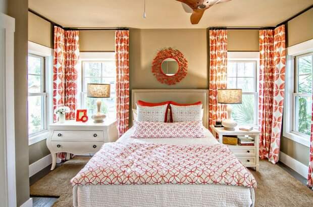 Подборка фотографий спален с РАЗНЫМИ прикроватными тумбами - и советы, как создать интересный акцент за счет разных тумбочек