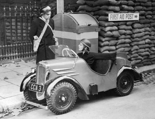 Малолитражка Rytecraft. Лондон, 1939 г.