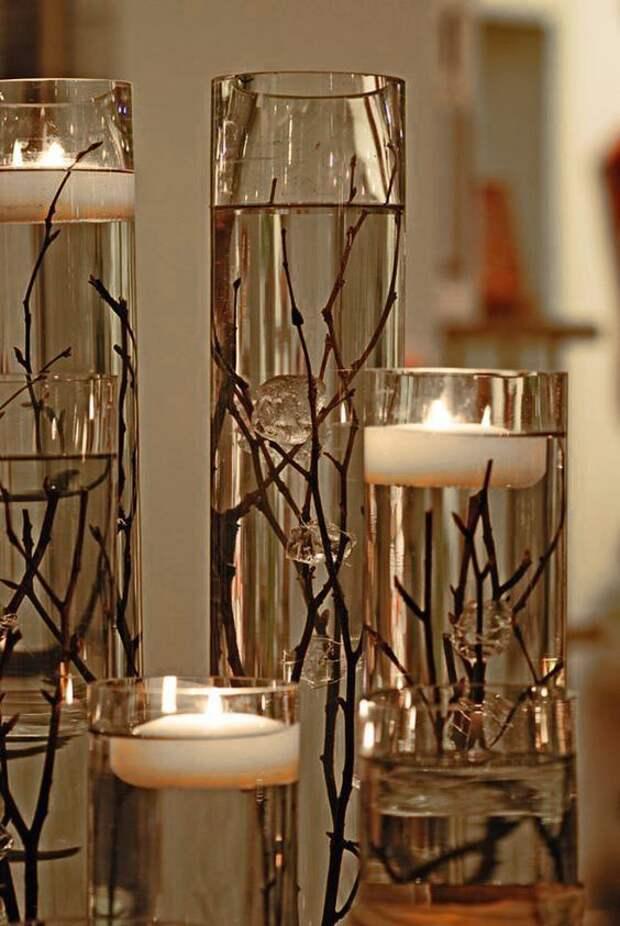 Плавающие свечи: подборка