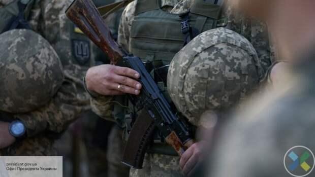 Бойцы ВСУ подорвались на минах во время вырубки леса в районе Счастья
