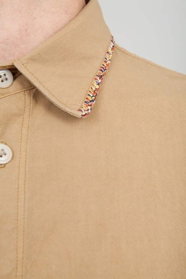 Вышивка на мужских рубашках