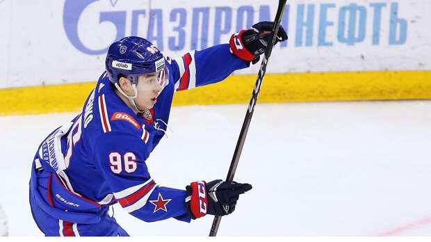 Дубль Кузьменко помог СКА победить минское «Динамо» в первом матче плей-офф КХЛ