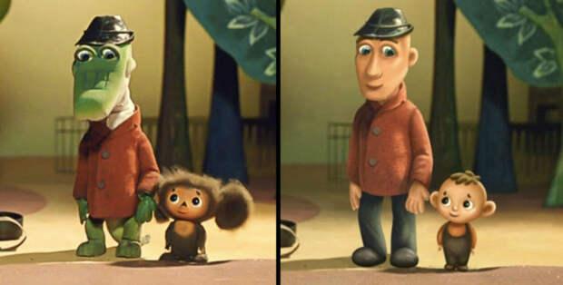 Художники показали, как выглядели бы герои любимых мультфильмов, будь они людьми