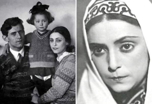 Рахиль Мессерер с мужем и дочерью Майей | Фото: izbrannoe.com