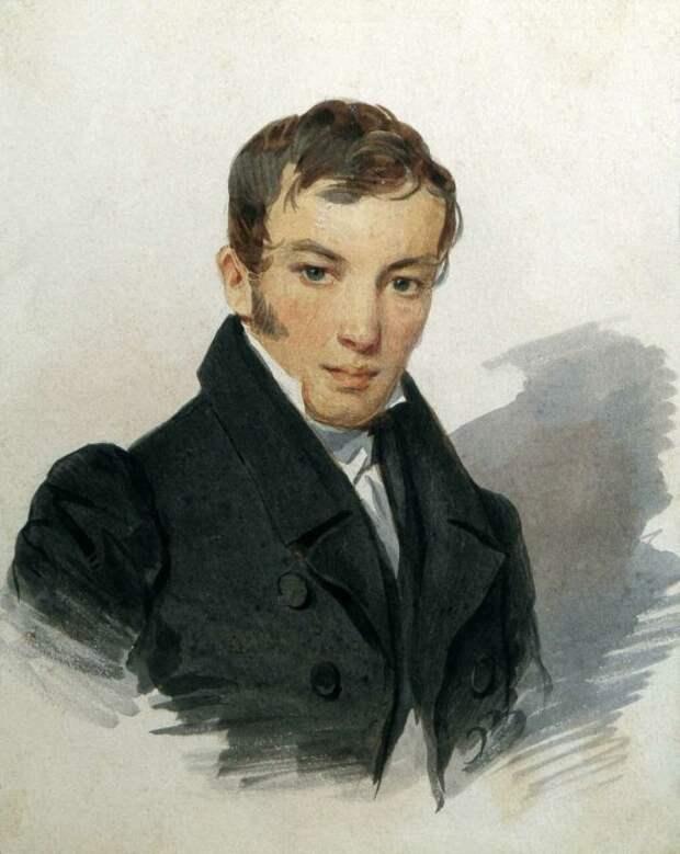 П. Ф. Соколов, портрет В. А. Жуковского