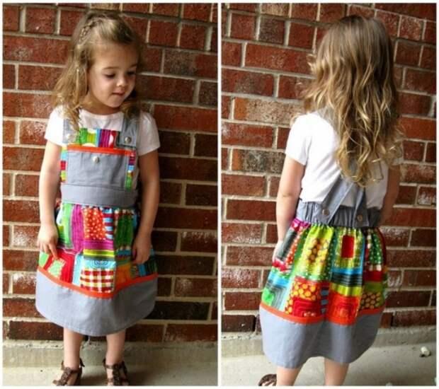 фото шьем нарядный сарафан для девочки