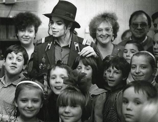 Майкл Джексон в Москве. 1993 год.