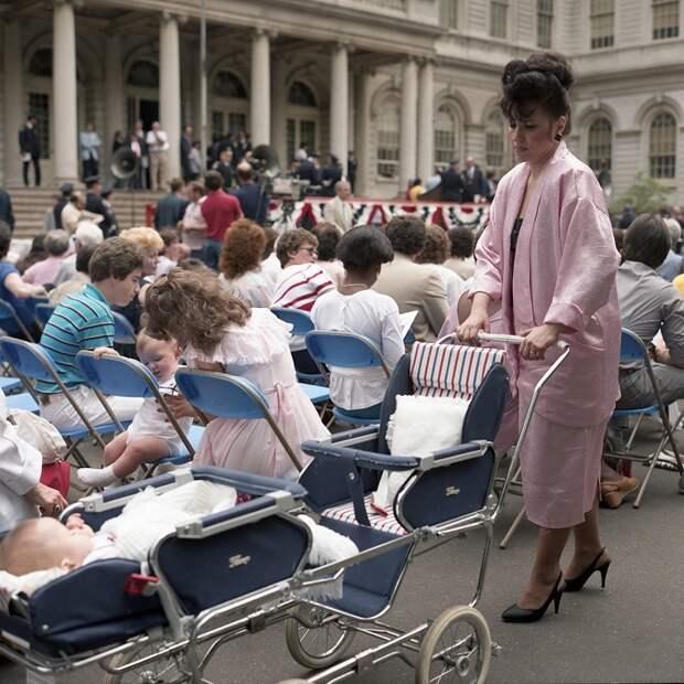 Нью-Йорк 1980-х на фотографиях Джанет Делани