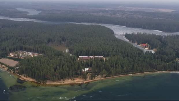 Самая законспирированная дача В. Путина на озере Валдай (ФБК рассекретил несмотря на то, что Навальный уже жестко поплатился)