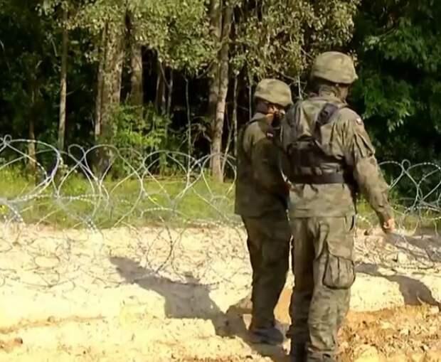 Польша ввела чрезвычайное положение на границе с Беларусью