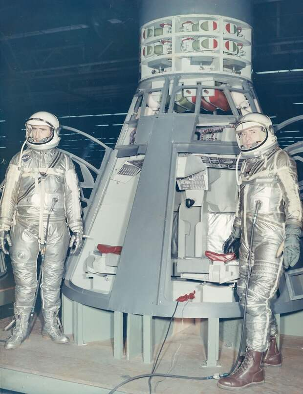 26. 1965, февраль. Презентация корабля «Джемини»