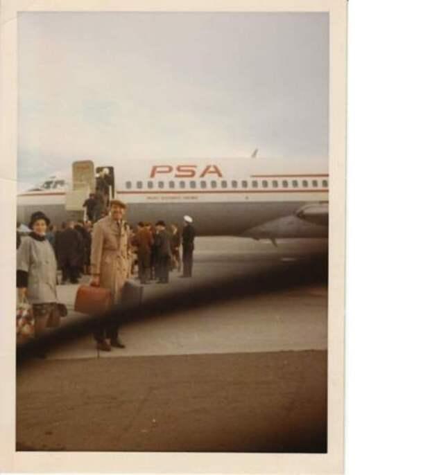 в аэропорту Лос-Анджелеса Редкие фото Юрия Никулина, история, фото