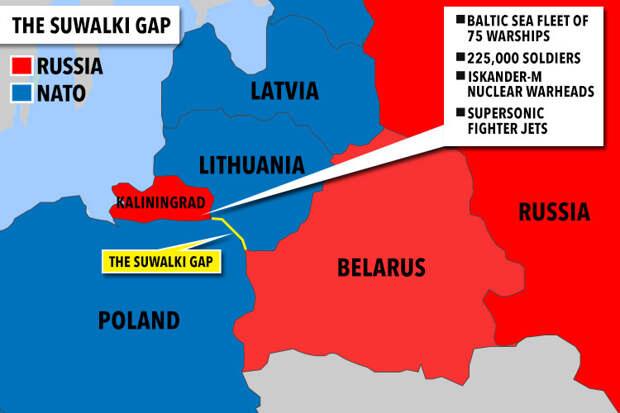Россия за два дня покончит с Прибалтикой и возьмется за Польшу?