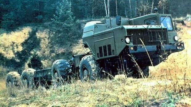 Шасси для бункера на колесах защищённая машина для пунктов управления «Редут», рассказы об оружии, страницы истории