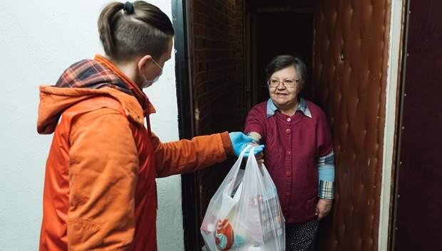 Волонтеры помогли 10 тыс жителей Подмосковья, находившимся в группе риска