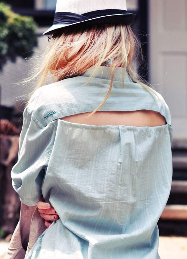 Пляжная рубашка (Diy)