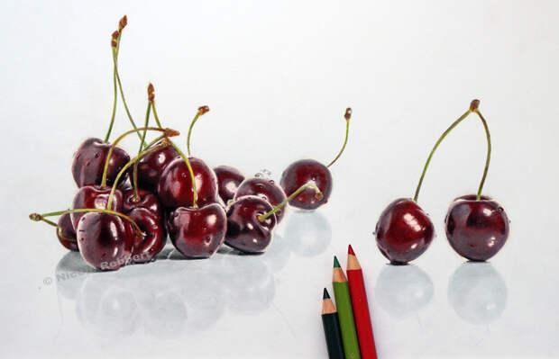 Гиперреалистичные рисунки Николь Ребберт