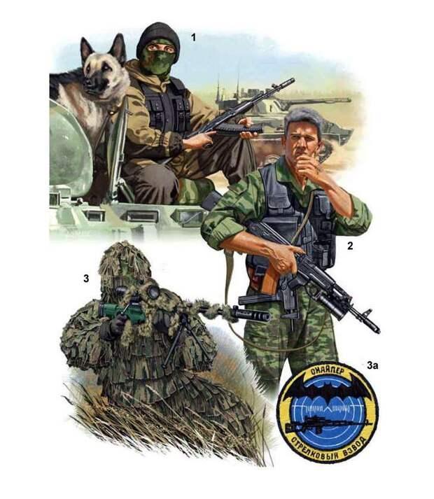Российский спецназ в Чечне иллюстрации, россия, спецназ