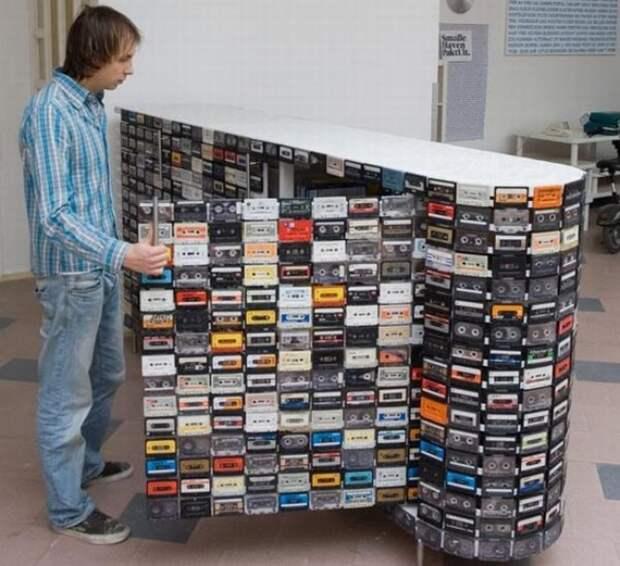 Шкаф из кассет