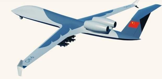 Китайцы построили прототип вооруженного разведывательного беспилотника