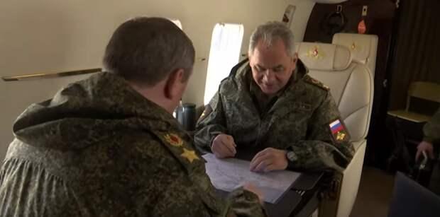 Министр обороны РФ Шойгу прибыл в Крым для проведения межвидовых учений войск Южного военного округа и ВДВ