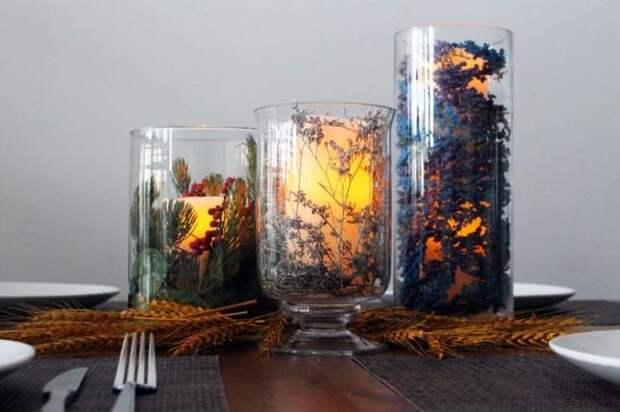 Идеи осенних поделок из природных материалов