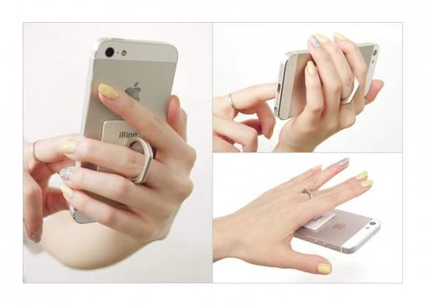 iRing - стильное крепление для смартфона
