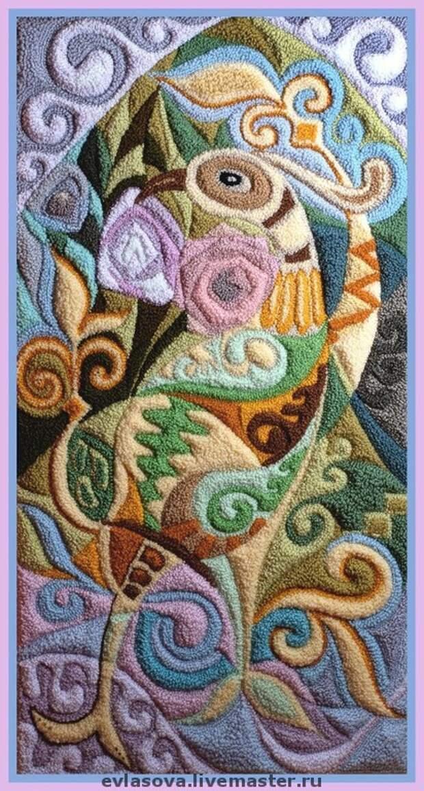 Фантазийные сюжеты ручной работы. Ярмарка Мастеров - ручная работа Птица счастья. Handmade.