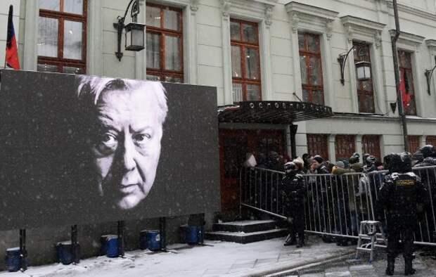 Олег Табаков до последнего призывал к единству славянских народов