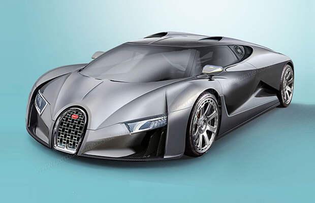 Новый Bugatti развивает 100 км/ч за 2 секунды