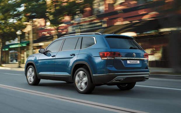 Volkswagen отзывает Teramont из-за проблем с подвеской