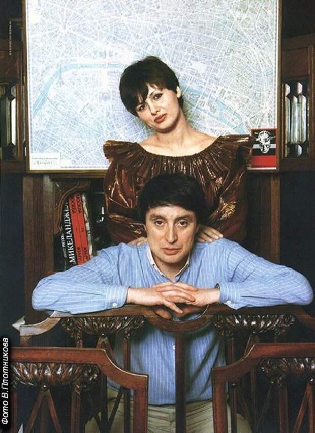 """Вениамин Смехов со второй женой Галиной (фото В. Плотникова """"spletnik.ru"""")"""