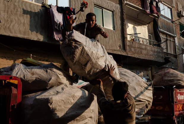 Город мусорщиков в Египте
