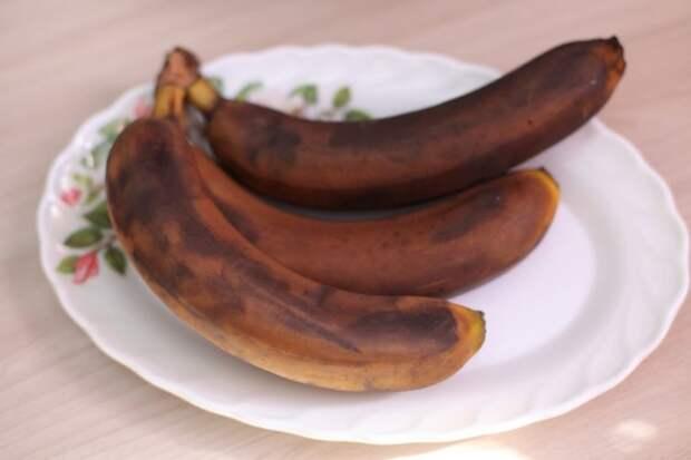 5. Переспевшие бананы идея, продукты, хитрости