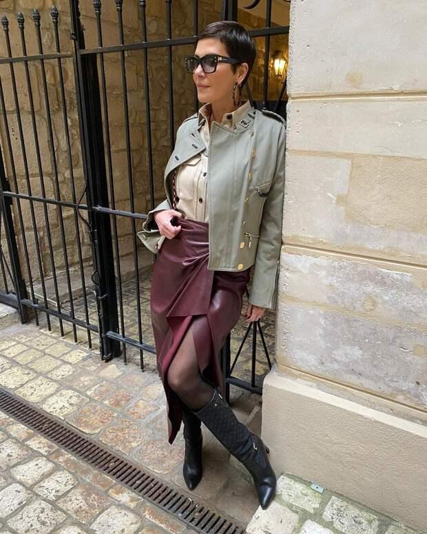Самые стильные образы «французской Эвелины» — Кристины Кордула
