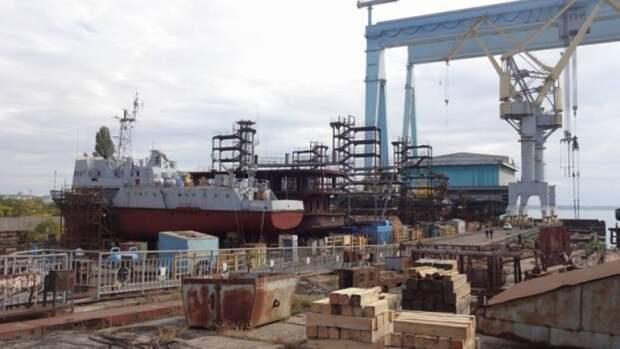 На Украине ликвидировали Черноморский судостроительный завод - «колыбель» авианесущих кораблей советского флота