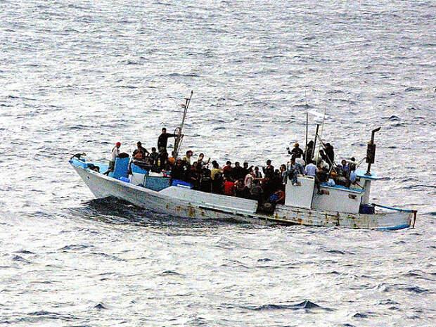 У берегов Ливии утонули более ста мигрантов, направлявшихся в Европу