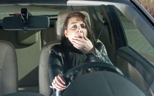 Шок-исследование: каждый третий водитель хотя бы раз засыпал за рулем