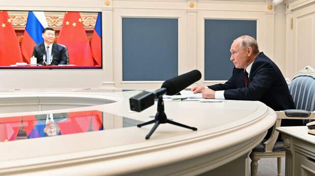 Путин и Си договорились о большем, чем военный союз